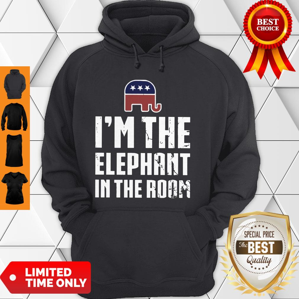 Official I'm The Elephant In The Room Hoodie