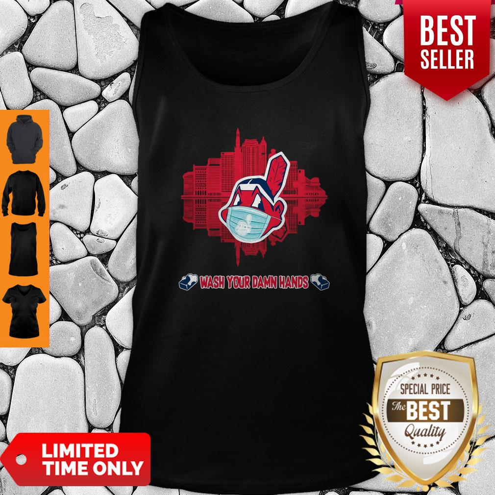 Official Ohio State Wash Your Damn Hands Tank Top