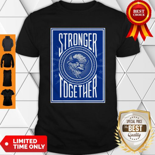 Official Buffalo Stronger Together Shirt