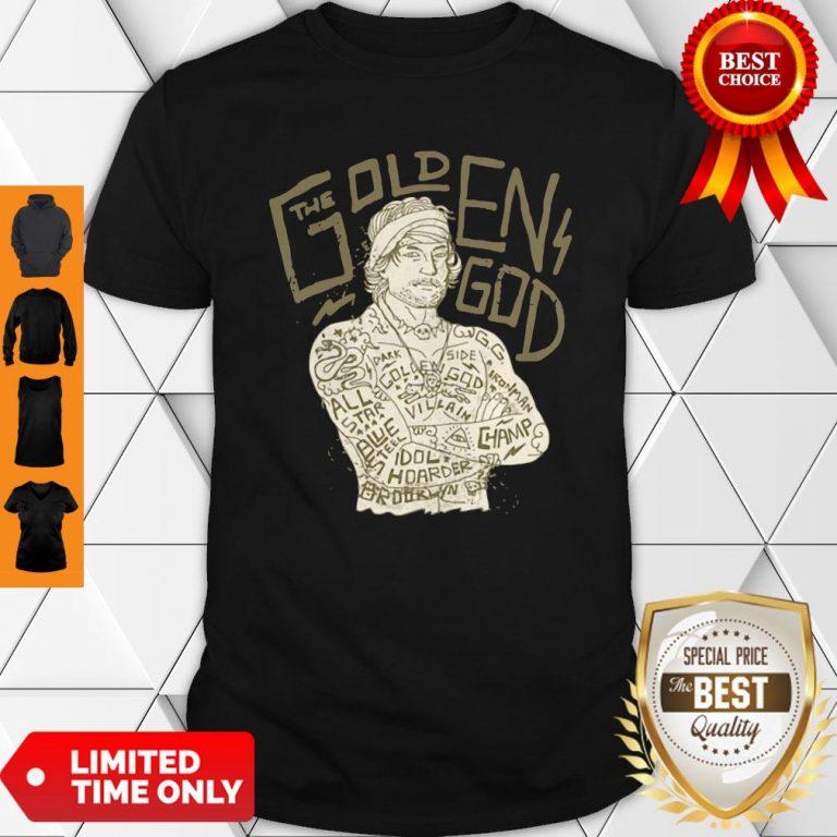 Official David's Golden God Shirt
