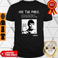 Official Use The Force Harry Gandalf Shirt