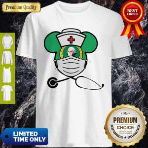 Official Mickey Nurse Face Mask George Washington Shirt