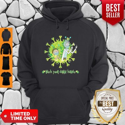 Rick And Morty Wash Your Damn Hands Covid-19 Hoodie