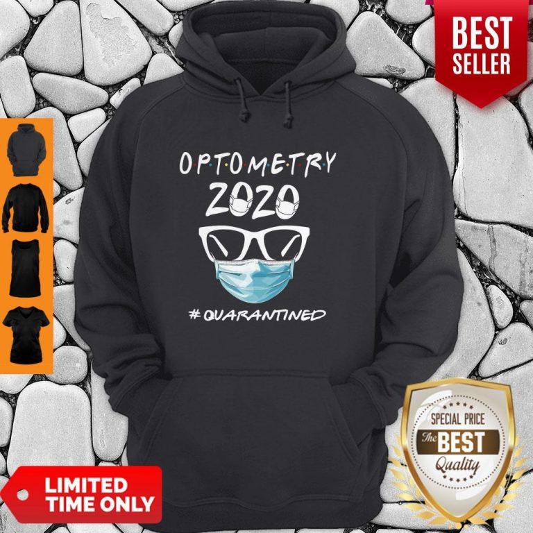 Official Optometry 2020 #Quarantined Hoodie