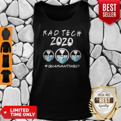 Rad Tech 2020 #Quarantined Tank Top