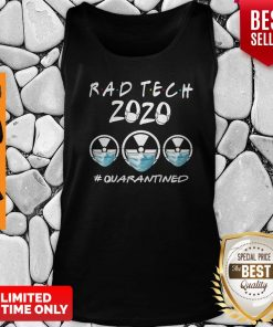 Rad Tech 2020 #Quarantined Tank Top