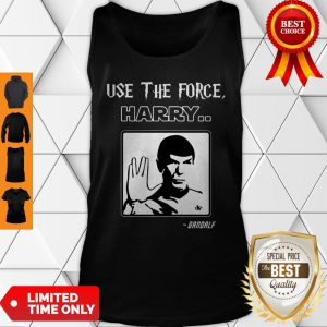 Official Use The Force Harry Gandalf Tank Top
