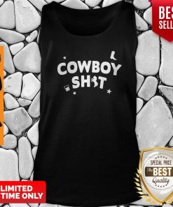 Official Cowboy Shit Tank Top