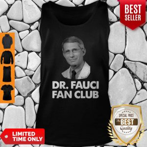 Official Dr Fauci Fan Club Tank Top