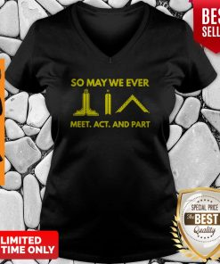 Official So May We Ever Meet Act And Part V-Neck