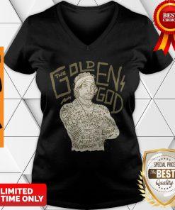 Official David's Golden God V-Neck
