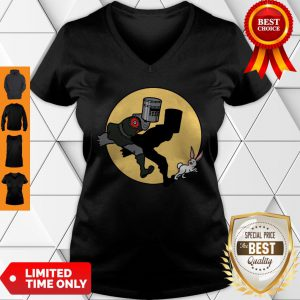 Official The Adventures Of The Black Knight V-Neck