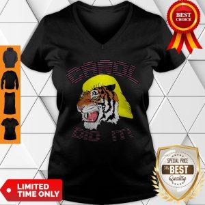 Official Tiger Carol Did It V-Neck