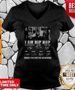 I Am Hip Hop Thank You For The Memories V-Neck