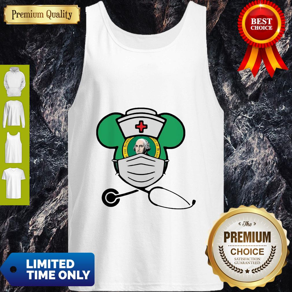 Official Mickey Nurse Face Mask George Washington Tank Top