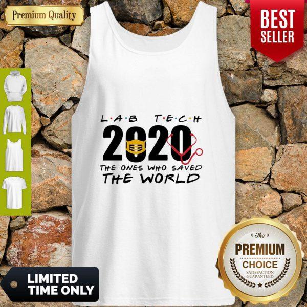 Lab Tech 2020 The Ones Who Saved The World Coronavirus Tank Top