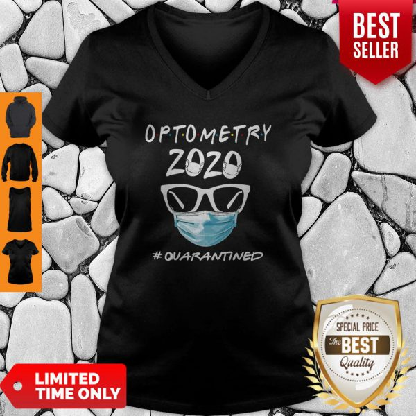 Official Optometry 2020 #Quarantined V-Neck