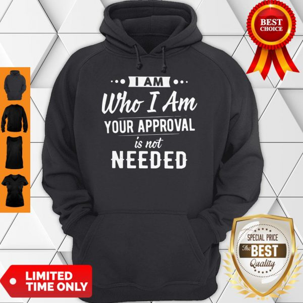 Plague I Am Who I Am Your Approval Is Not Needed Hoodie
