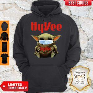 Baby Yoda Mask Hy-Vee Coronavirus Hoodie