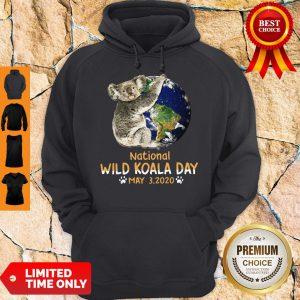 Never Earth National Wild Koala Day May 3 2020 Hoodie