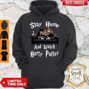 Stay Home And Watch Harry Potter Coronavirus Hoodie