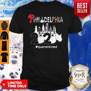 Philadelphia Sports 2020 Quarantined Coronavirus Shirt