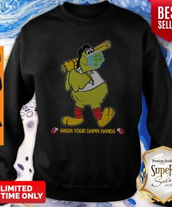 Pittsburgh Pirates Wash Your Damn Hands Coronavirus Sweatshirt