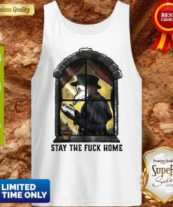 Plague Doctor Stay The Fuck Home Coronavirus Tank Top