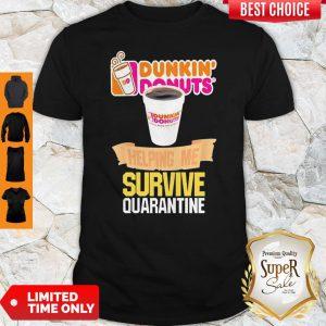 Hennessy Helping Me Survive Quarantine Coronavirus Shirt