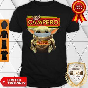Official Baby Yoda Face Mask Pollo Campero Shirt