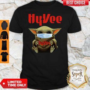 Baby Yoda Mask Hy-Vee Coronavirus Shirt