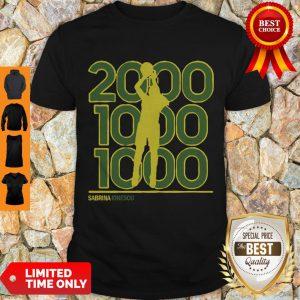 Perfect Sabrina Ionescu 2,000 1,000 1,000 Club Shirt