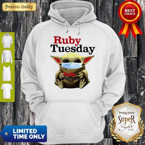 Star Wars Baby Yoda Hug Ruby Tuesday COVID-19 Hoodie