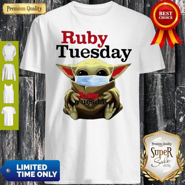 Star Wars Baby Yoda Hug Ruby Tuesday COVID-19 Shirt