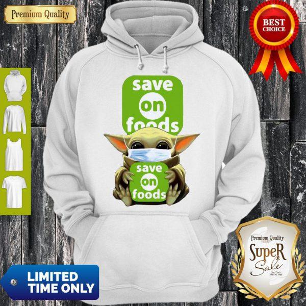 Star Wars Baby Yoda Hug Save On Foods COVID-19 Hoodie