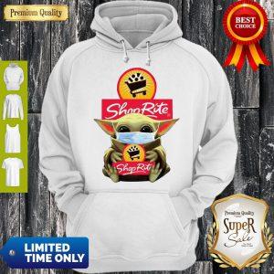 Star Wars Baby Yoda Hug Shop Rite COVID-19 Hoodie