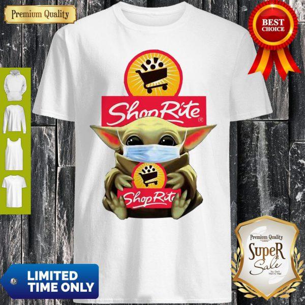 Star Wars Baby Yoda Hug Shop Rite COVID-19 Shirt