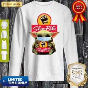 Star Wars Baby Yoda Hug Shop Rite COVID-19 Sweatshirt