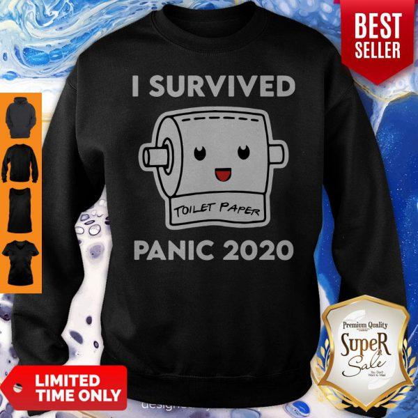 Plague I Survived Panic 2020 Toilet Paper Sweatshirt