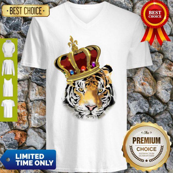 Official King Tiger Kinder V-Neck
