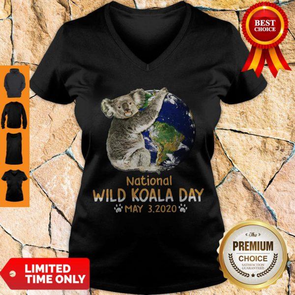 Never Earth National Wild Koala Day May 3 2020 V-neck