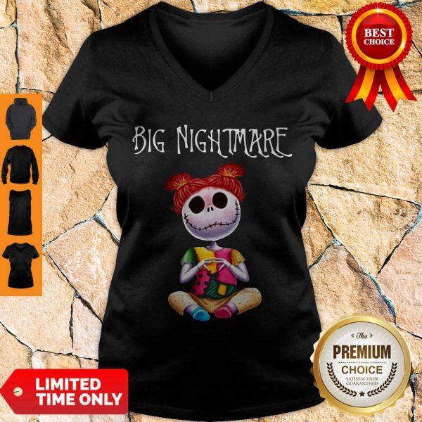 Mickey Big Nightmare V-neck