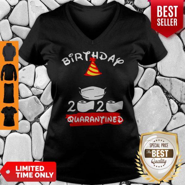 Never Birthday 2020 Quarantine V-neck