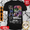 Awesome 19 Years Of 2001 2020 10 Movies Fast And Furious Car Signatures Shirt