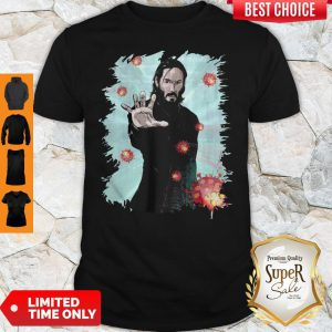 Funny Keanu Reeves Covid 19 T-Shirt