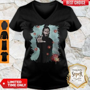 Funny Keanu Reeves Covid 19 V-neck
