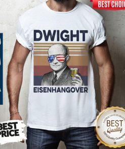 Official Dwight Eisenhangover Vintage Shirt