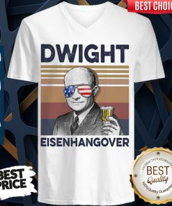 Official Dwight Eisenhangover Vintage V-neck