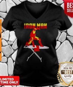 Official Iron Man Iron Clothes V-neck