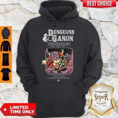 Pretty Dungeons Ganon Fantasy Role Playing Game Basic Rules Set Hoodie